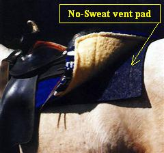 No-Sweat Vent Pad